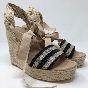 NWOT Kate Spade Delano Espadrille Wedge Sandal